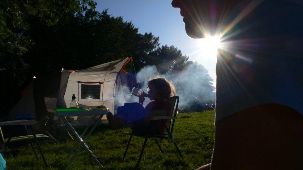 Camping avec enfants en fin septembre